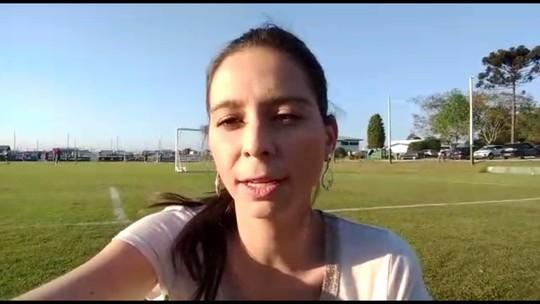 Por dentro do treino: Nadja Mauad conta como foi o treino do Coritiba