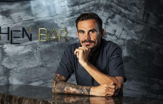 O uruguaio Fabian Martinez: no Ktchen Bar