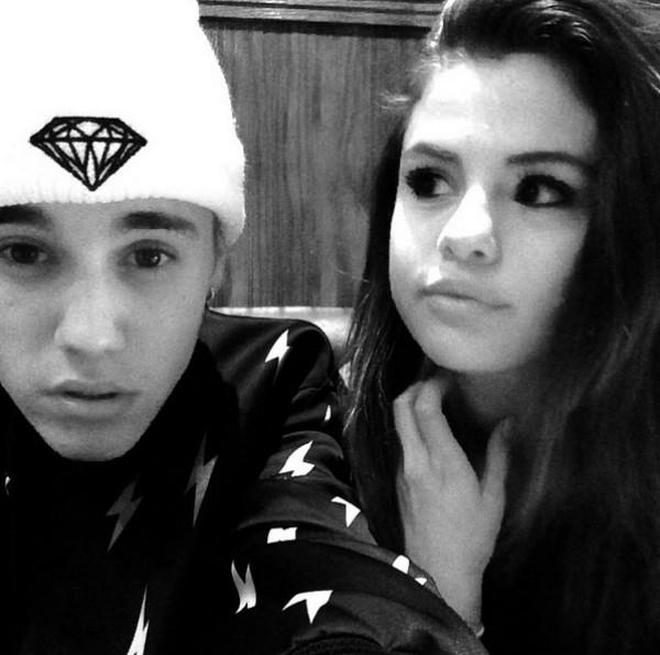Selena Gomez e Justin Bieber na época de namorados (Foto: Reprodução/Instagram)