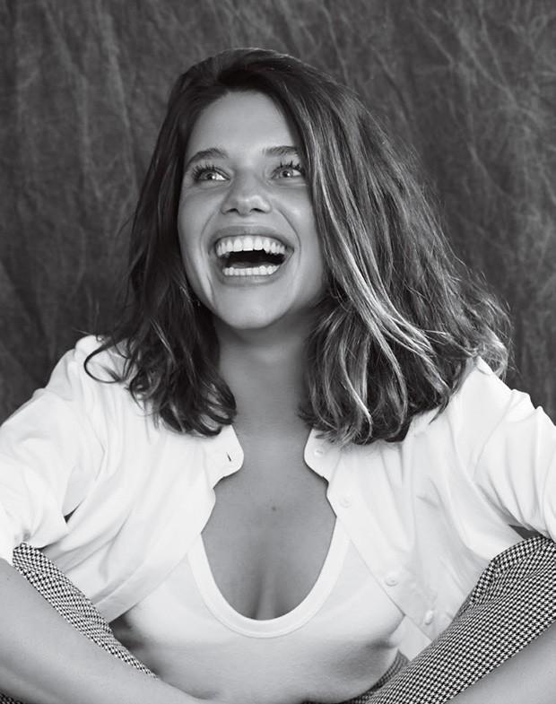 Bruna Linzmeyer na GQ  (Foto: Cassia Tabatini /Arquivo GQ e Zee Nunes /Arquivo Vogue, Imaxtree e Divulgação)