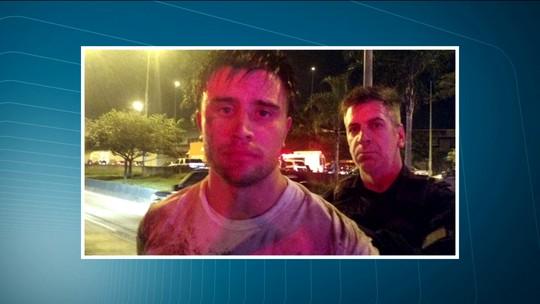 Assaltante é preso após perseguição policial na Marginal Tietê