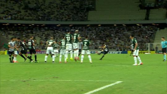 Análise: Ceará tem grupo pulsante e leveza de Mateus Gonçalves para derrotar Palmeiras