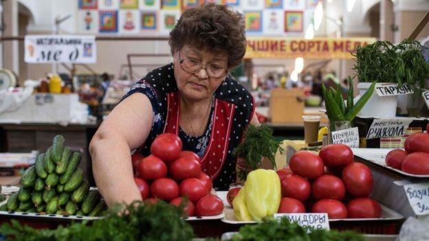 A Rússia consome verduras e legumes da África (Foto: Getty Images)