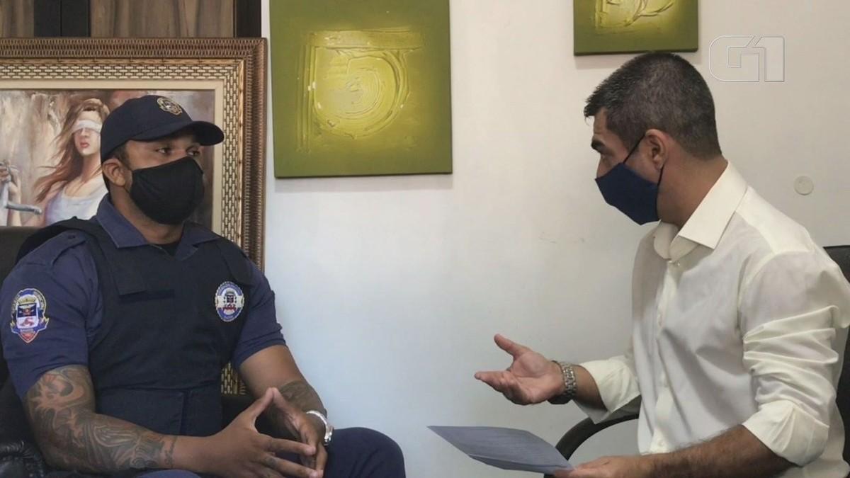 Guarda humilhado por desembargador fala sobre acusações de abuso e armação: 'Espero justiça' – G1