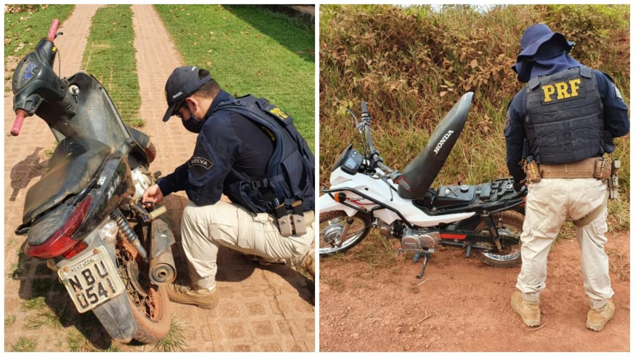 Motocicletas com registro de roubo em Cuiabá e Altamira são apreendidas em Rurópolis