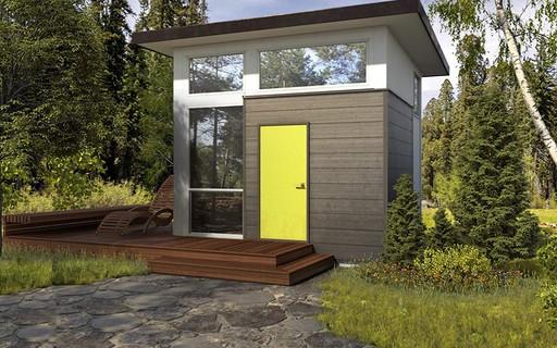 Marca lança minicasa montável com cozinha, banheiro, sala e quarto