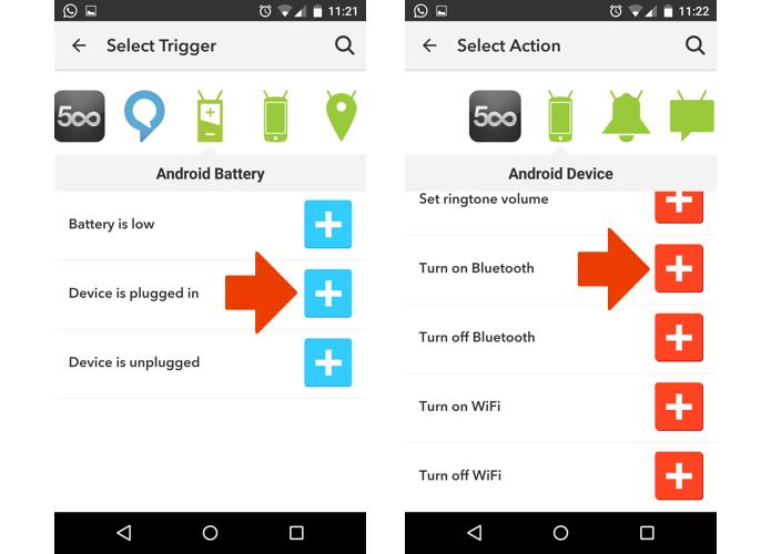 Ligue o Bluetooth novamente quando o telefone estiver conectado ao carregador (Foto: Reprodução/Paulo Alves)