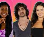 Camilla de Lucas, Fiuk e Juliette estão na final do 'BBB' 21 | Reprodução