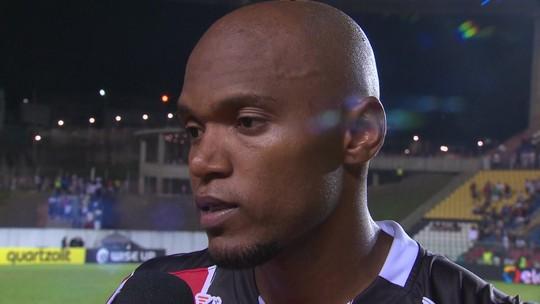Renato Oliveira lamenta derrota do Serra-ES para o Vasco na Copa do Brasil