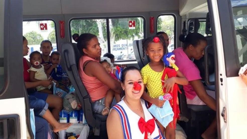 Após incêndio em creche, 16 crianças receberam alta na manhã deste sábado  (Foto: Arquivo Pessoal)