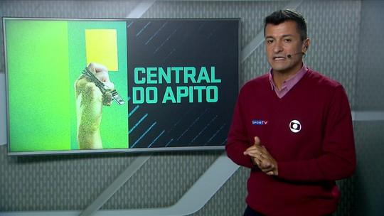Central do Apito: Ricci diz que VAR acertou em pênalti de Gilberto e em expulsão de Agenor
