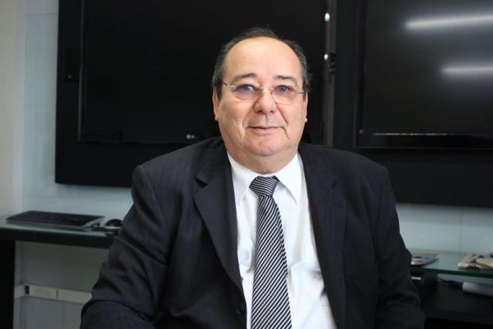 Arthur Cunha Lima, conselheiro afastado do TCE-PB — Foto: Walla Santos/TCE-PB