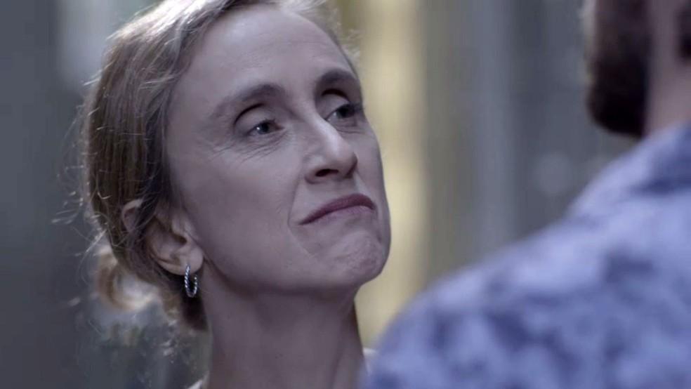 'Qual é a tua com a minha sobrinha?', pergunta Jacy — Foto: TV Globo