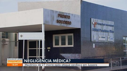 Homem de 27 morre após ataque cardíaco, médicos são suspeitos de negligência, em Jussara