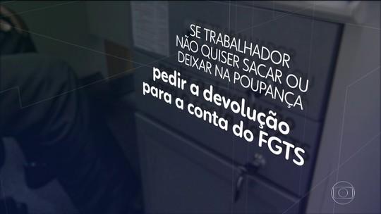 Caixa faz retiradas de até R$ 500 de contas do FGTS e diz que objetivo é facilitar saque por trabalhadores
