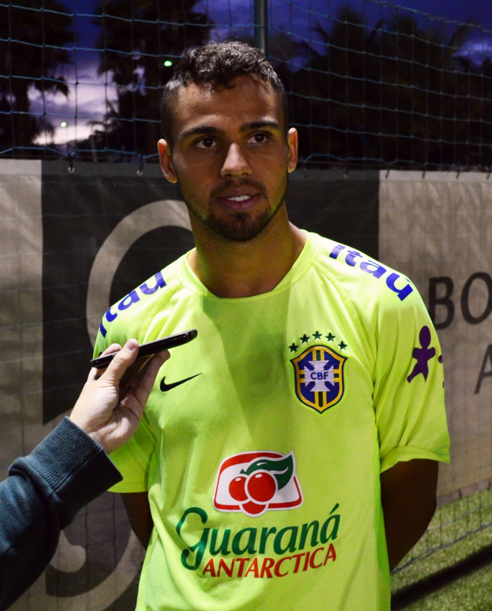 Lucão participou da preparação para as Olimpíadas do Rio, em 2016 — Foto: Danilo Sardinha/GloboEsporte.com