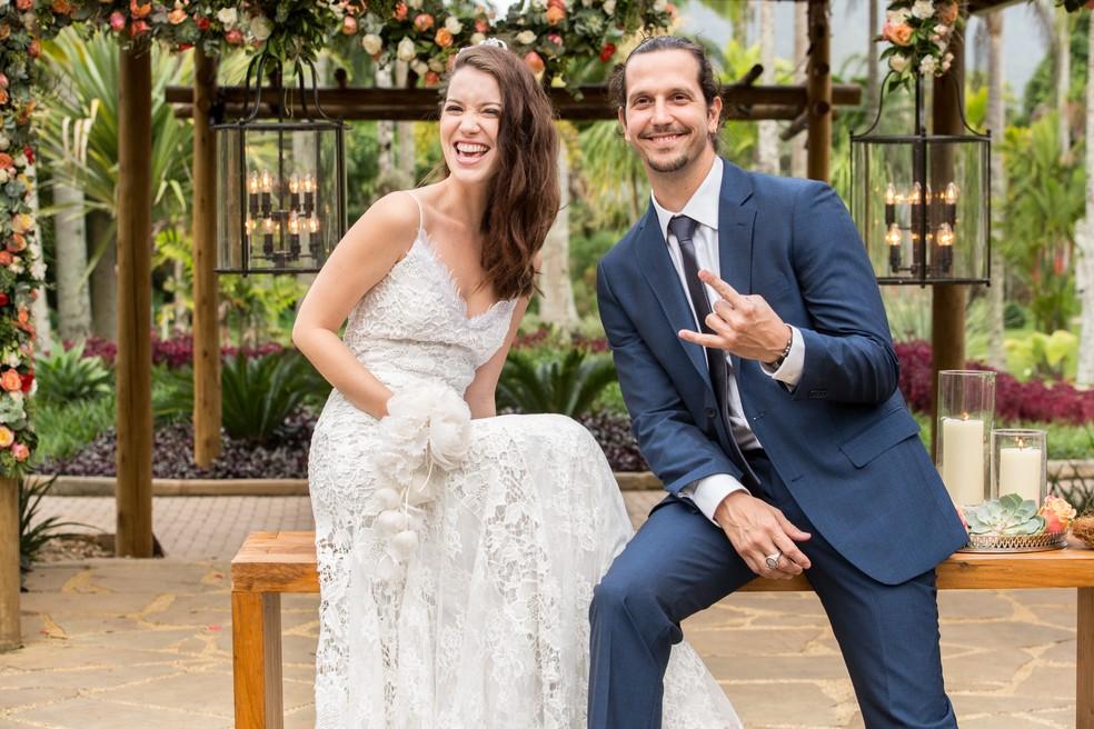 Gui e Júlia se casam ♥ (Foto: Felipe Monteiro/Gshow)