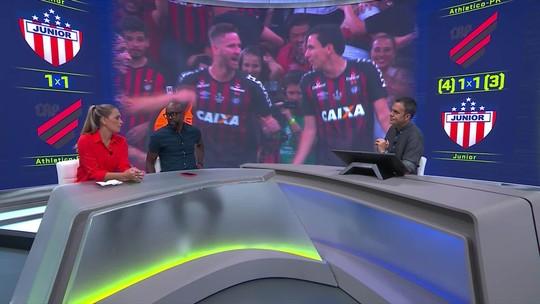 Comentaristas discutem maturação tardia do Pablo, do Athletico-PR