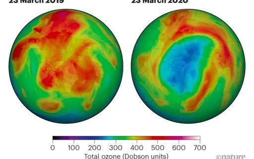Buraco de grandes proporções na camada de ozônio se abre no Ártico