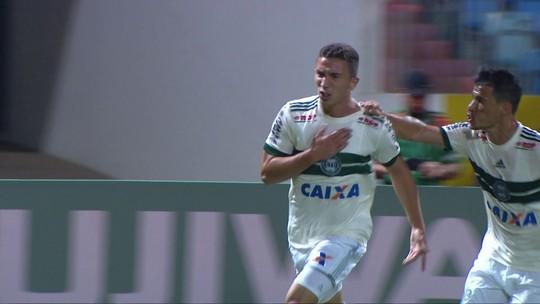 Na despedida da Série B, Nathan deve ter primeira chance como titular no ataque do Coritiba