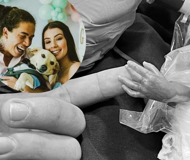 Whindersson Nunes confirma nascimento do filho João Miguel e posta foto (Foto: Reprodução/Instagram)