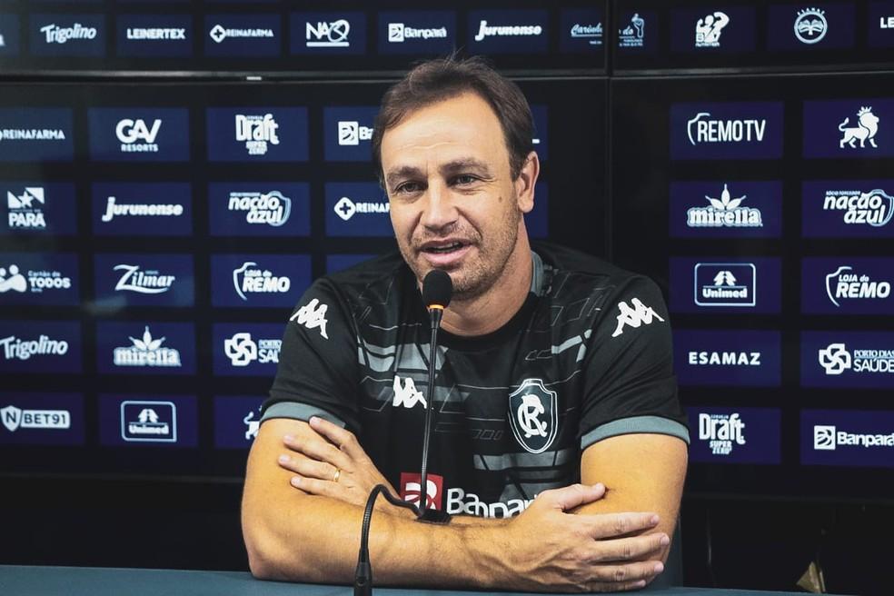Felipe Conceição, técnico do Remo — Foto: Samara Miranda/Ascom Remo