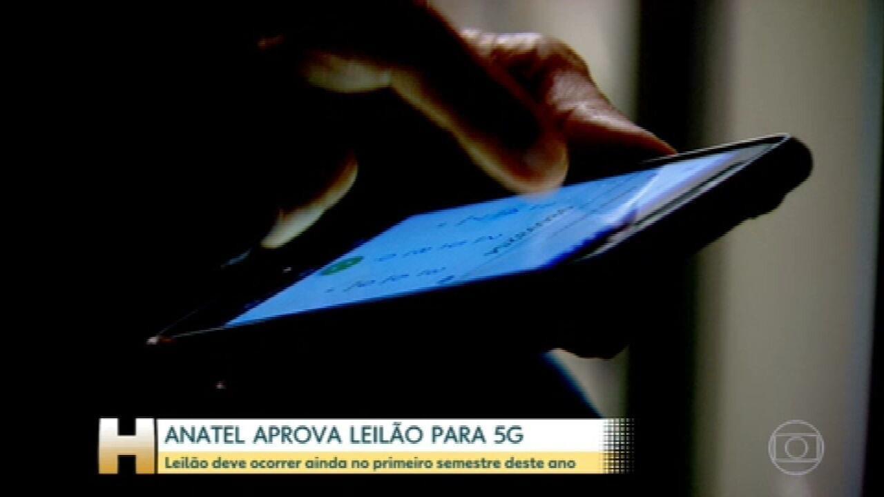 Anatel estima em R$ 35 bilhões o valor do leilão 5G e diz que maior parte será investimento obrigatório