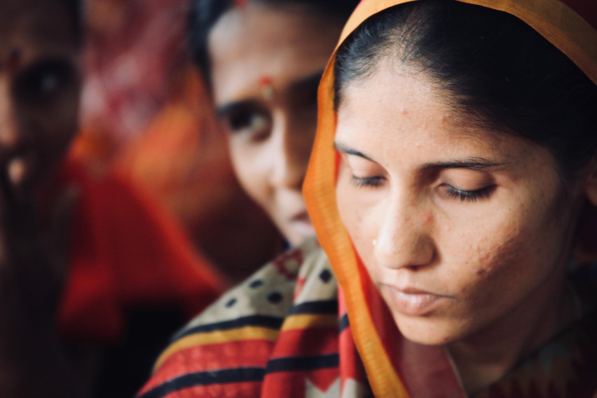 Mulheres indianas (Foto: Phil Warren/Flickr)