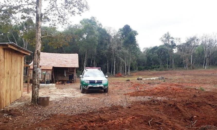 Polícia aplica R$ 1,8 milhão em multas por áreas desmatadas na região central do Paraná