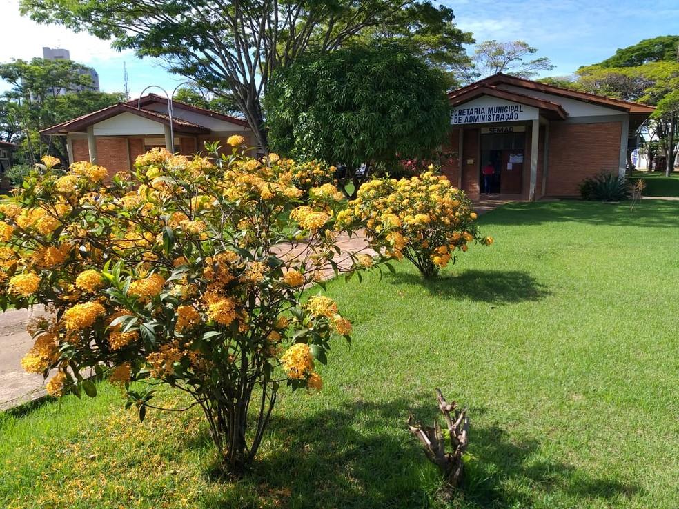 Prefeitura de Vilhena, que realiza o concurso  — Foto: Prefeitura de Vilhena/Divulgação