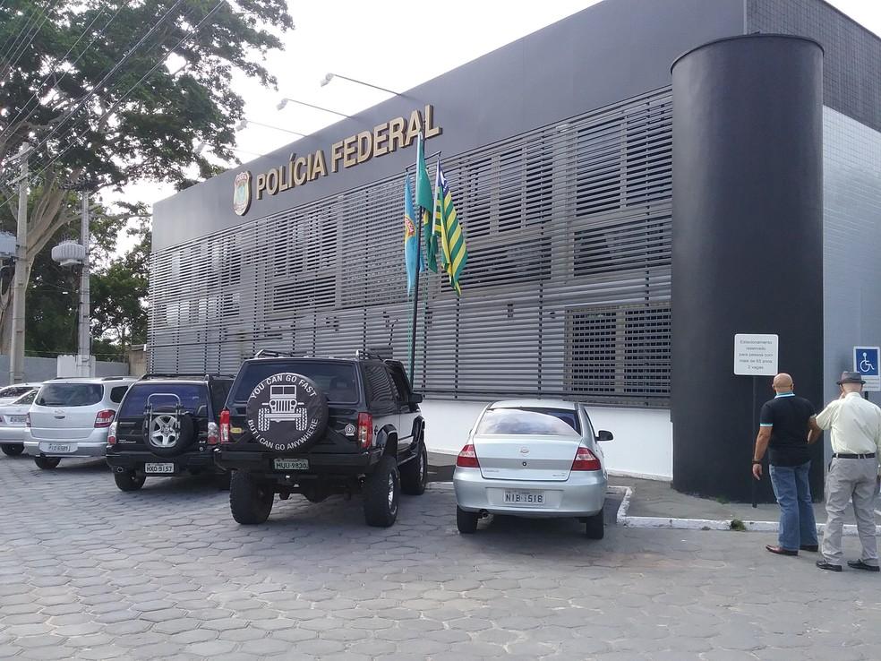 Sede da Polícia Federal em Teresina — Foto: Catarina Costa/G1 PI