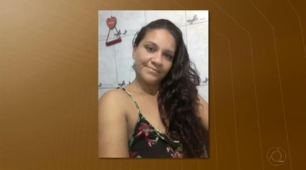 Joseane foi morta pelo marido em Santa Rita, neste domingo (18). (Foto: Reprodução/TV Cabo Branco)