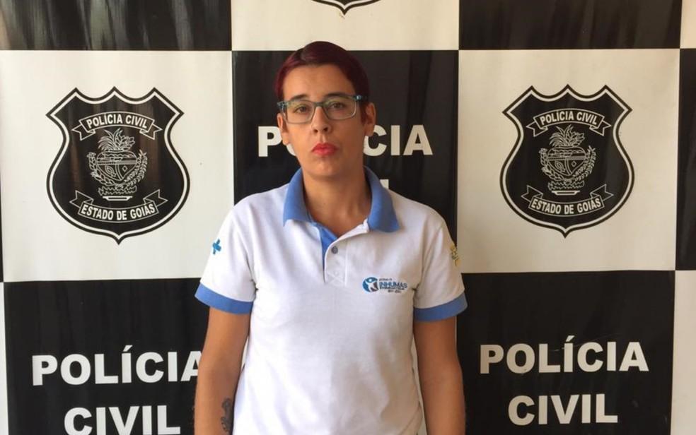 Técnica em enfermagem é presa suspeita de falsificar e vender atestados em Inhumas — Foto: Divulgação/Polícia Civil