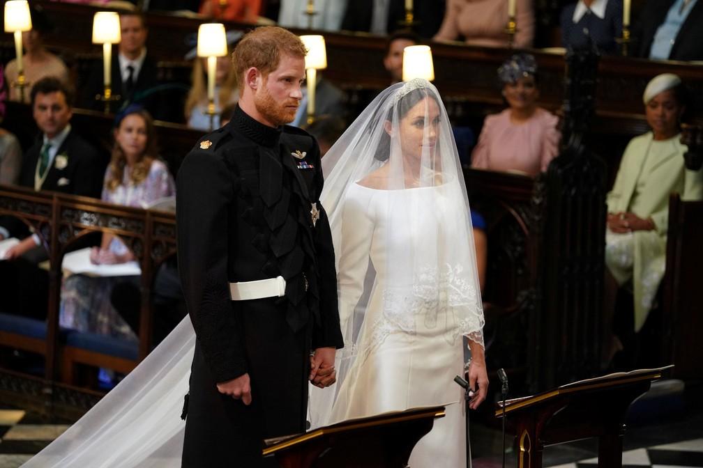 Meghan Markle e o príncipe Harry se casam neste sábado (19) (Foto: Dominic Lipinski/Pool via REUTERS)