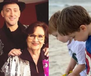 Déa Lúcia, mãe de Paulo Gustavo, tem dois netos | Reprodução