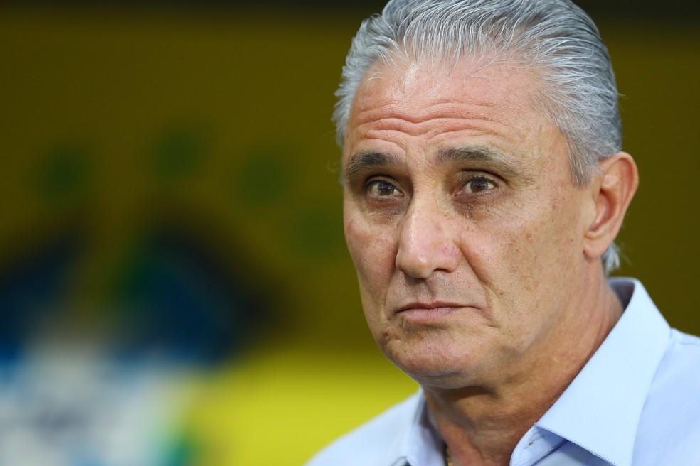 Tite está no comando da seleção brasileira desde 2016 — Foto: Getty Images