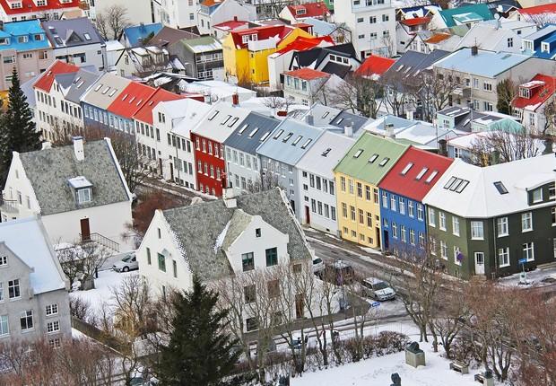 Reykjavík, capital da Islândia (Foto: sharonang/Pixabay)