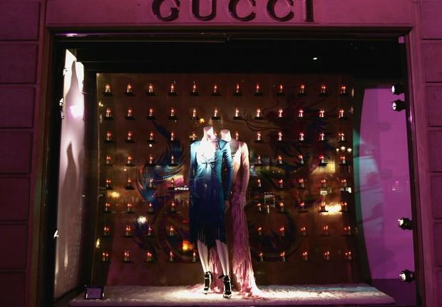 Loja da Gucci em Paris (Foto: Pascal Le Segretain/Getty Images)