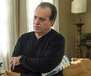Tony Ramos, o Olavo de 'O Sétimo Guardião' | Estevam Avellar/TV Globo