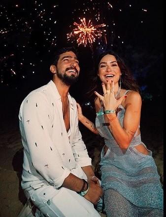 Renato e Thaila (Foto: Instagram)