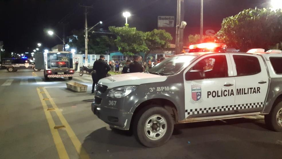 Crime ocorreu na noite de terça-feira em Parnamirim — Foto: Sérgio Henrique Santos/Inter TV Cabugi