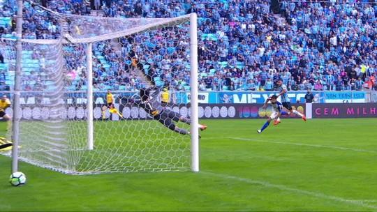 Grêmio x Paraná - Campeonato Brasileiro 2018 - globoesporte.com
