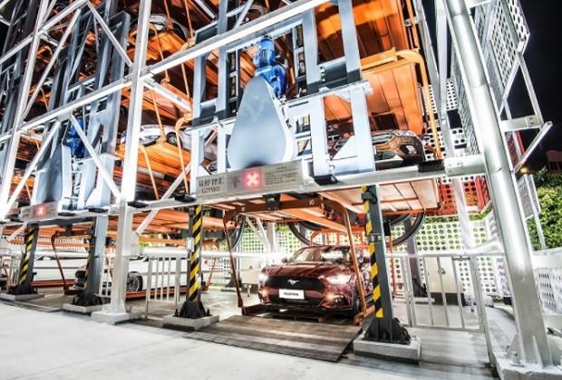 Vending machine do Alibaba e da Ford começa a funcionar (Foto: Divulgação Alibaba)