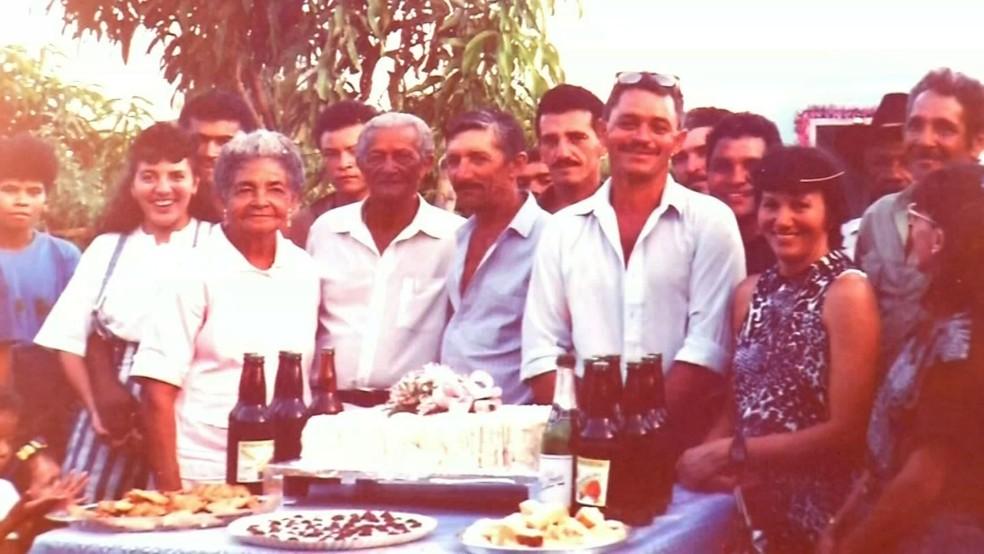 Da união nasceram 11 filhos,  71 netos, 86 bisnetos e 12 trinetos (Foto: Reprodução/TV Verdes Mares)