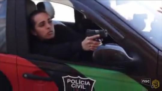 Marido é preso suspeito de ter matado policial civil