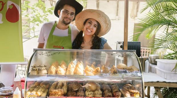 Aline e Thiago, fundadores da Paixão Vegan (Foto: Divulgação)