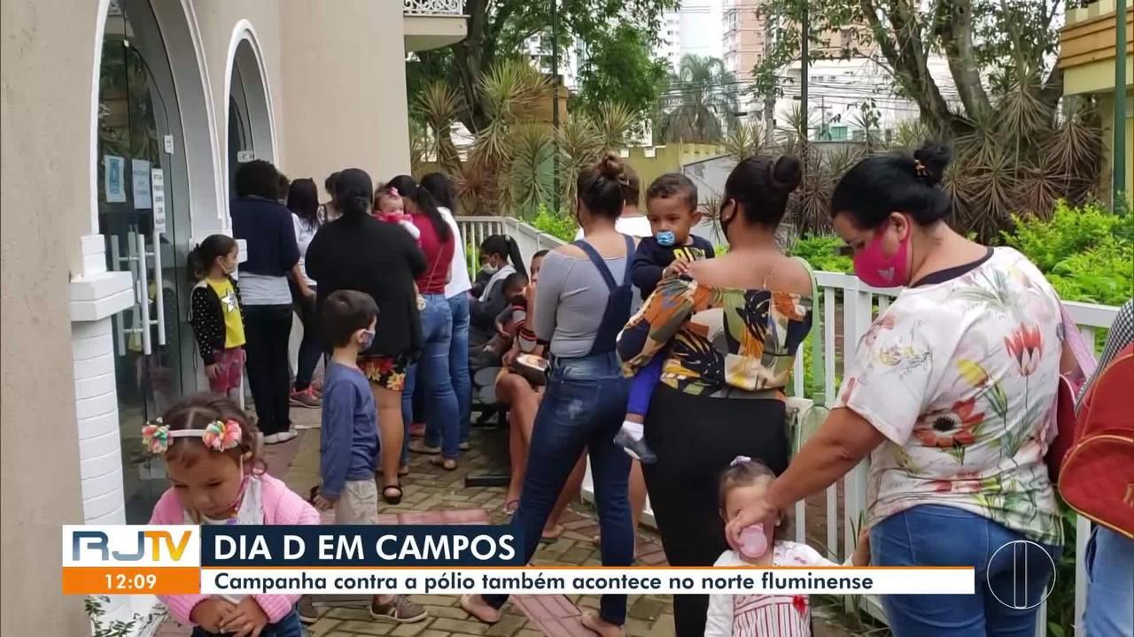 Dia D da campanha de Multivacinação tem grande procura nas cidades do interior do RJ