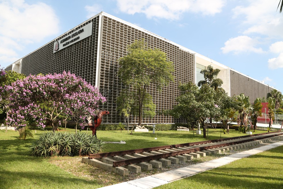 Fachada da Assembleia Legislativa de São Paulo (Alesp) — Foto: José Antonio Teixeira/Alesp/Divulgação