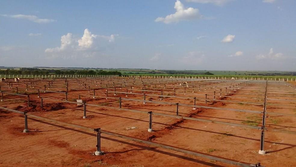 Área destinada a atender empresas de MG corresponde a três campos de futebol.  — Foto: Divulgação