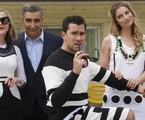 Catherine O'Hara, Eugene Levy, Dan Levy e Annie Murphy em 'Schitt's Creek' | Divulgação/CBC